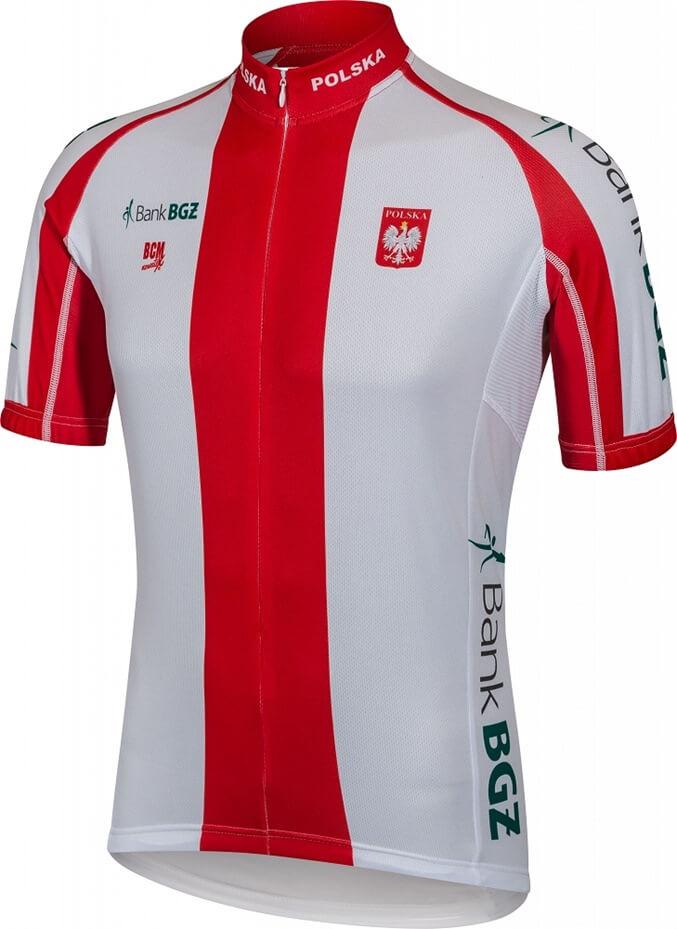 koszulka rowerowa Polska reprezentacja