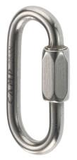 Karabinek przemysłowy Oval Mini Link Stainless 5 mm CAMP ze stali nierdzewnej