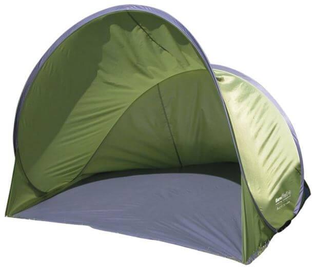 namiot plażowy brunner zielony z daszkiem