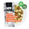 Posiłek schab z ziemniakami w sosie z zielonego pieprzu 370g (liofilizat) - żywność liofilizowana LYOfood