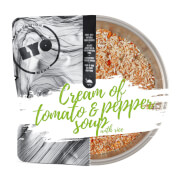 Posiłek zupa krem pomidorowo paprykowy z ryżem 370g (liofilizat) - żywność liofilizowana LYOfood