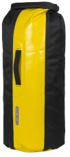 Worek Dry Bag PS490 Black Sun Yellow 59L Ortlieb