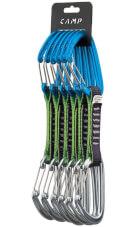 Zestaw ekspresów wspinaczkowych CAMP Orbit Wire Express Set 11 cm niebiesko szary