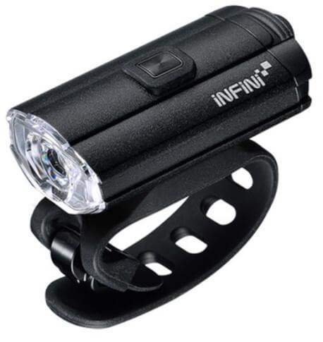 Lampa przednia Infini Tron 100 Black USB