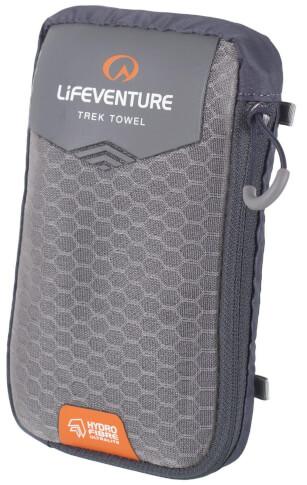 Ultraszybkoschnący ręcznik HydroFibre Trek Towel XL 75x130cm szary Lifeventure