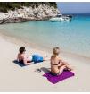 Turystyczny ręcznik szybkoschnący Soft Fibre Lite Giant 90x150cm Trek Towel Lifeventure fioletowy