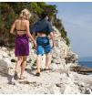 Turystyczny ręcznik szybkoschnący Soft Fibre Lite X Large 75x130cm Trek Towel Lifeventure fioletowy