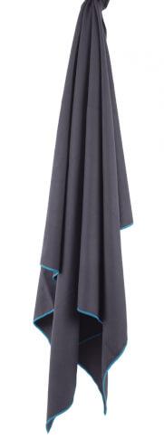 Turystyczny ręcznik szybkoschnący Soft Fibre Lite Giant 90x150cm Trek Towel Lifeventure szary