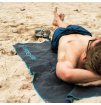 Turystyczny ręcznik szybkoschnący Soft Fibre Lite X Large 75x130cm Trek Towel Lifeventure szary