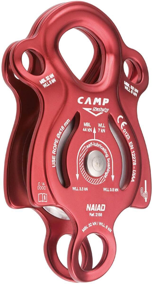bloczek wspinaczkowy pojedynczy camp naiad