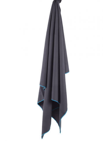 Ręcznik szybkoschnący Soft Fibre Lite L 65x110cm Trek Towel Lifeventure szary