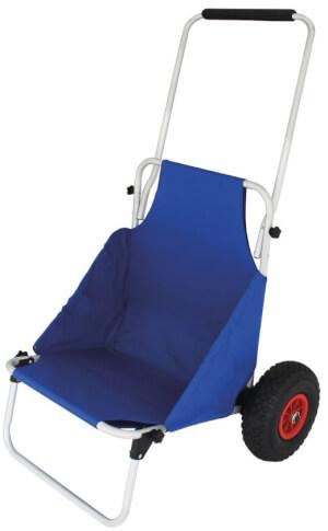 Wózek plażowy 2w1 Beach Trailer niebieski EuroTrail