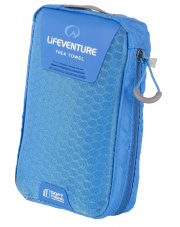 Ręcznik szybkoschnący Lifeventure Soft Fibre Advance L Trek Towel niebieski 65x110 cm