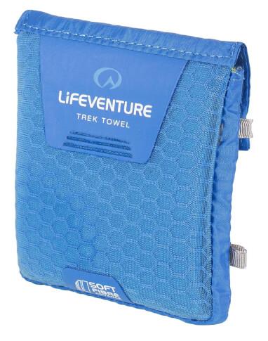 Mały ręcznik szybkoschnący SoftFibre Advance Trek Towel Pocket 37x37cm niebieski Lifeventure