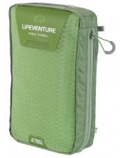 Ręcznik szybkoschnący Soft Fibre Advance Trak Towel Giant 90x150cm zielony Lifeventure