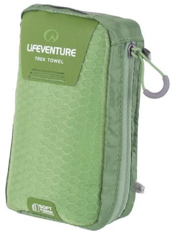 Ręcznik szybkoschnący Soft Fibre Advance Trek Towel Large 65x110cm zielony Lifeventure