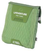 Ręcznik szybkoschnący Soft Fibre Advance Pocket (37x37) zielony