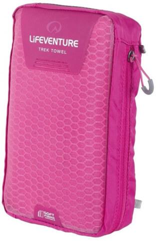 Ręcznik szybkoschnący Soft Fibre Advance Trek Towel Giant 90x150cm różowy Lifeventure
