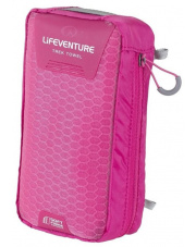 Ręcznik szybkoschnący Soft Fibre Advance Trek Towel XL 75x130cm różowy Lifeventure