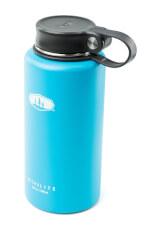 Zakręcany termos podróżny Glacier Stainless Microlite Twist 1000 ml błękitny GSI Outdoors