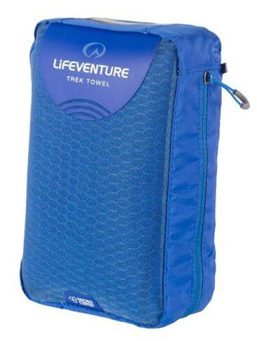 Ręcznik szybkoschnący Micro Fibre Comfort X Large 75x130cm niebieski Lifeventure