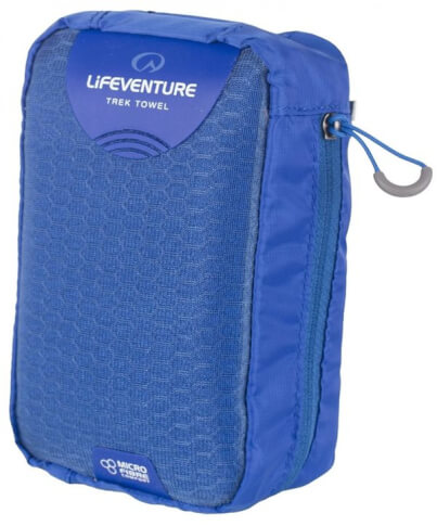 Ręcznik szybkoschnący Micro Fibre Comfort Large 65x110cm niebieski Lifeventure