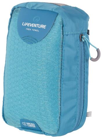 Ręcznik szybkoschnący Micro Fibre Comfort Large 65x110cm morski aqua Lifeventure