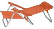 Krzesło plażowe Beach Chair Mallorca EuroTrail Orange