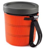 Kubek nawadniający żywność 946 ml  Fairshare Mug II GSI Outdoors pomarańczowy