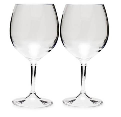 Zestaw składanych kieliszków turystyczny do wina czerwonego 445 ml NESTING RED WINE GLASS SET GSI Outdoors
