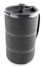Turystyczny kubek z filtrem do zaparzania kawy 30 FL. OZ. Javapress GSI outdoors Graphite