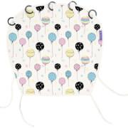 Zmieniająca kolor osłonka do wózków i fotelików Design Magic Balloons Dooky