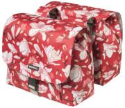 Podwójna torba rowerowa Double Bag Magnolia S 25l Basil poppy red