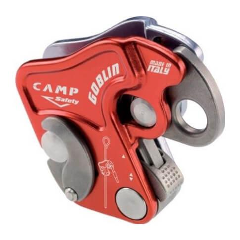 Przyrząd autoasekuracyjny CAMP Goblin czerwony