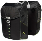 Podwójna torba rowerowa Miles Double Bag 32l Basil black lime