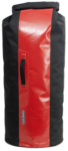Worek Dry Bag PS490 Black Red 79L Ortlieb