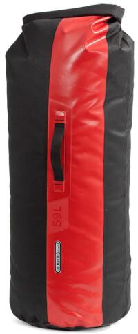 Worek Dry Bag PS490 Black Red 59L Ortlieb