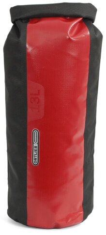 Worek Dry Bag PS490 Black Red 13L Ortlieb