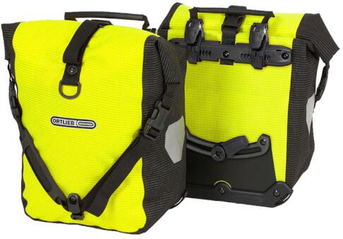 Sakwy rowerowe uniwersalne Ortlieb Sport-Roller High Visibility Neon Yellow 25L