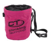 Woreczek na magnezję Trapeze różowy Climbing Technology