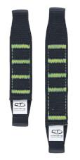 Taśma do ekspresów Extender NY Pro czarna z zielonym 12 cm Climbing Technology