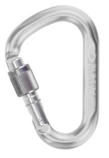 Karabinek zakręcany Snappy SG Climbing Technology srebrny