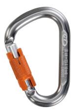 Karabinek z zamkiem Twist Lock Snappy WG Climbing Technology szary