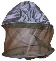 Kapelusz z moskitierą ochronną i gumką Headnet TravelSafe