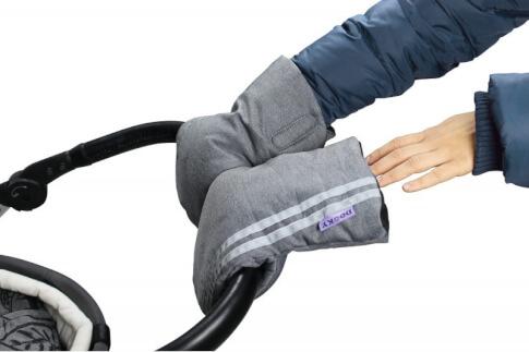 Rękawice do wózka dziecięcego mufka Dooky