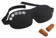 Opaska na oczy z zatyczkami do uszu Eyemask & Earplugs Foam TravelSafe