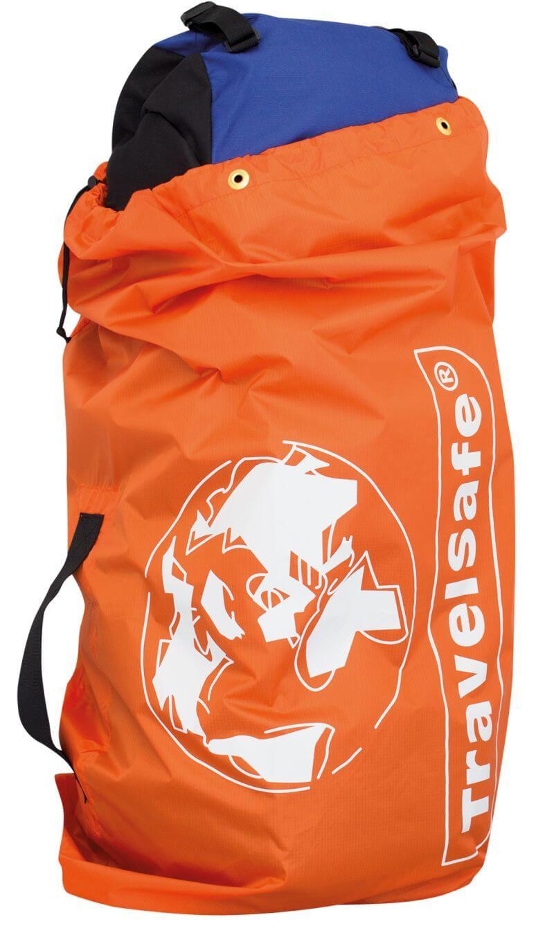 5fcf3e29ca843 Pokrowiec ochronny na bagaż Flight Conatiner pomarańczowy TravelSafe ...