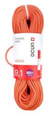 Pojedyncza lina dynamiczna Ocun Vision Orange 9,1 mm 80 m