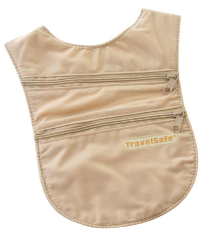 Portfel saszetka na klatkę piersiową Holsterwallet TravelSafe
