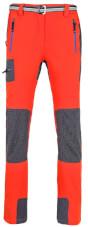 Funkcyjne spodnie trekkingowe damskie Gabro Lady Milo cherry tomato